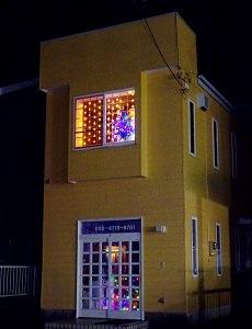 トリミングサロン・ペットホテルR&R クリスマスイルミネーション